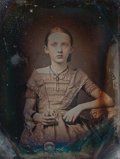 victoriansolstice:    Undated daguerreotype of a young girl     c. 1850′s