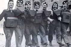 Women who were trained as welders in July 1943