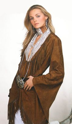 Ralph Lauren | Cowgirl style.  The man is just brilliant!