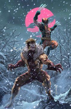#Wolverine Vs Sabretooth  #comics #Marvel