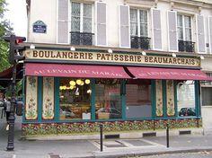 Paris, boulangerie, patisserie Beaumarchais