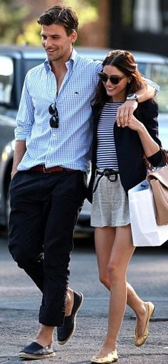 Johannes huebl & Olivia palermo - possibly THE most stylish couple ever!