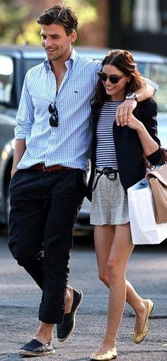 Johannes huebl & Olivia palermo - possibly THE most stylish couple ever!