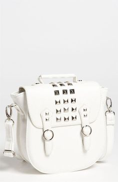 Super cute purse!  I love studs and cross body bags!  Steve Madden 'Regan' Crossbody Strap available at #Nordstrom
