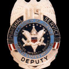 Deputy US Marshal's Badge