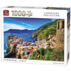 Vernazza, Olaszország 1000db-os puzzle Puzzle, King, Landscape, Collection, Products, Card Stock, Puzzles, Scenery, Riddles