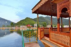 Ajanta Palace Group of Houseboats - Kashmir, India - Dwellable Kashmir Trip, Kashmir India, Srinagar, Palace, Pergola, Around The Worlds, Outdoor Structures, Tours, Vacation