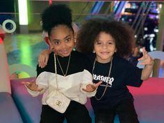 Newborn Black Babies, Black Baby Girls, Cute Black Babies, Cute Little Girls Outfits, Toddler Outfits, Everleigh Rose, Best Rapper Alive, Mini Me, Sibling