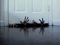Hands Under The Door