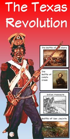 The Texas Revolution -  Review the events leading to the Texas Revolution and major events in the revolution. It is perfect for a formative assessment or a review activity prior to a test. Your ELL learners will benefit from activities such as this from the visuals and discussion opportunities created.