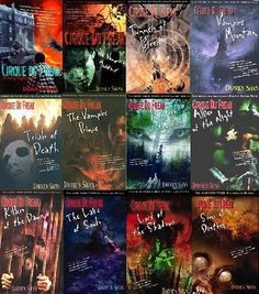 cirque du freak--love this book series I wish they would have been able to make more movies out of them :(