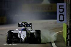 Valtteri Bottas, Williams, Singapore, 2014 practice