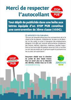 Zero Waste France | Mon Stop Pub n'est pas respecté ! Que faire ?