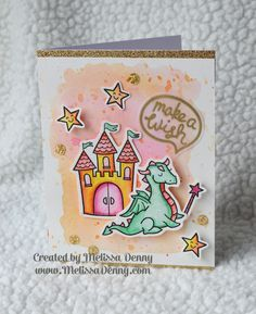 Lawn Fawn: Critters Ever After Melissa Denny: Pretty Pink Posh Watercolor Blog Hop