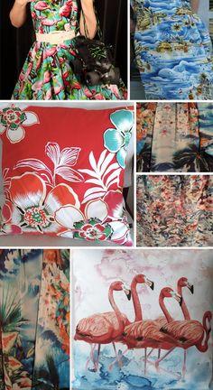 Street Patterns: Tropical Prints