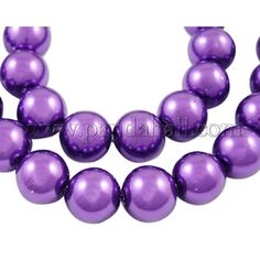 Glass Pearl Beads Strands Dyed Round BlueViolet 8mm in diameter hole 1mm about 106pcs/strand 33/strand