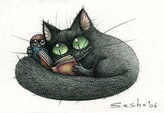 ilustración de Sasho