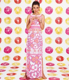 Lilly Pulitzer Spring '13- Didi Dress in Multi Pansy Dance. Ahh! My favorite of the season!