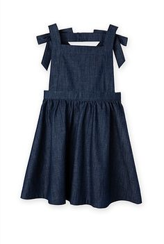 Bow Denim Dress - Country Road girls