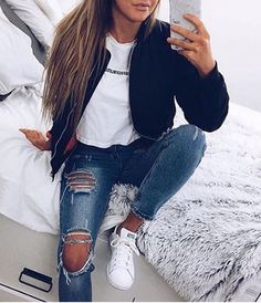 Imagine fashion, jeans, and outfit