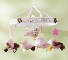 Cute! infant crib mobiles