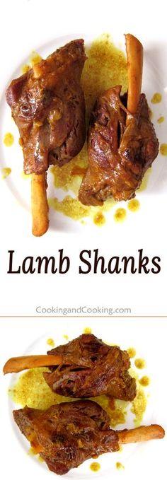 Persian Lamb Shanks | cookingandcooking.com