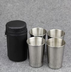 #Wine #Gift Free Bag 6 Pieces 30ml Cups Set Stainless Steel Cups Wine Beer Whiskey Mugs Outdoor Travel CupUSD 6.00/lotFree Bag 4 Pieces 80ml Cups Set Stainless Steel Cup Small Outdoor Cups Travle CupUSD 6.99/lotF #Food #Party