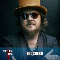 Adelmo Fornaciari (born 25 September 1955), more commonly known by his stage name Zucchero Fornaciari or simply Zucchero