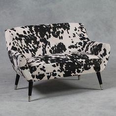 Black-and-White-Faux-Cowhide-Fabric-Retro-Sofa-75-x-118-x-65cm