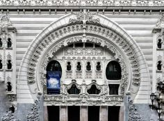 Teatro Campos Eliseos #Bilbao Art Nouveau, Bilbao, Big Ben, 1920s, Building, Travel, Fields, United Kingdom, United States