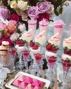 Elegant Dessert table