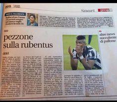 La Juventus su Leggo diventa Rubentus! Tifosi infuriati