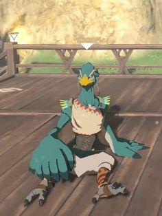 Zelda Breath of the Wild-Rito by GiuseppeDiRosso on DeviantArt Zelda Breath, Twilight Princess, Breath Of The Wild, Episode 5, Wild Birds, Legend Of Zelda, Mammals, Breathe, Peeps
