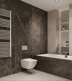 Two bathroom design ideas Home Building Design, Building A House, Toilet, Bathtub, Interior, Bathrooms, Entryway, Behance, Design Ideas