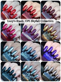 OPI Skyfall Collection - So beautiful !