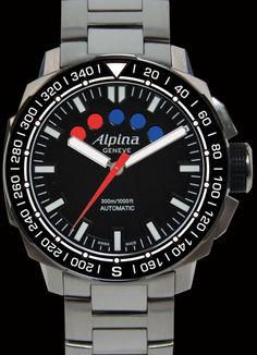 ALPINA extreme sailing chronograph regatta