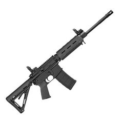 The Sig Sauer M400 Enhanced Patrol tactical rifle in 5.56mm NATO has a 16-inch chrome-lined barrel with a 1:7-inch twist for unmatched accuracy.