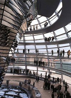 The Reichstag New German Parliament, Berlin, Norman Foster.