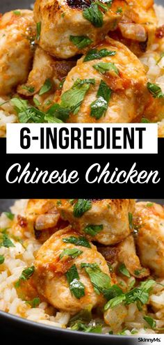 Healthy Men Our Chinese Chicken is made with only healthy ingredients, plus it's a cinch to shop for and prepare. It's a perfect weeknight dinner, even on those nights when your schedule feels hectic. Almond Chicken, Baked Chicken, Chicken Recipes, Chicken Menu, Healthy Family Meals, Healthy Dinner Recipes, Chinese Chicken, Chinese Food, Chinese Desserts