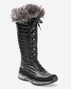 d3118339bf28 Eddie Bauer Women s MicroTherm Tall Boot Snow Boots