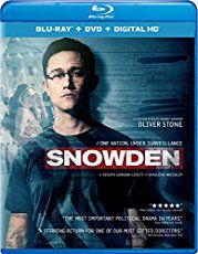 Snowden (Blu-ray + DVD + Digital HD)