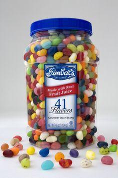 Our 41 flavor Gourmet Jelly Bean jar.