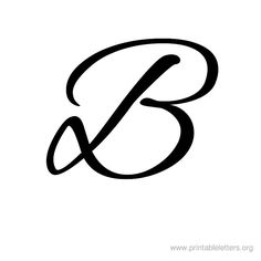 Printable Letters B | Letter B for Kids | Printable Alphabet Letters