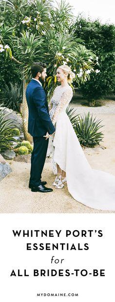 fc890c5b5c967 Whitney Port s wedding guide Whitney Port Wedding
