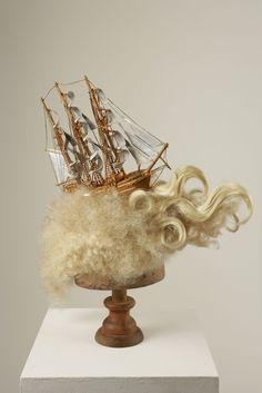 Marie Antoinette's ship wig. Is there any doubt as to how far out of touch she was with the people?