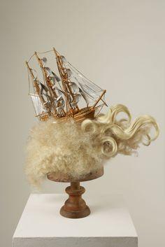 Marie Antoinette's ship wig