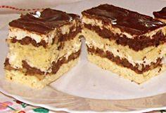 Uráli szelet Hungarian Cake, Hungarian Recipes, Sweet And Salty, Cake Cookies, Cupcakes, Tiramisu, Sweets, Ethnic Recipes, Cakes