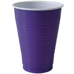 Party Dimensions 81232 Solid Purple Coex Display Box - 960 Per Case Disposable Tableware, Plastic Plates, Party Cups, Guest Towels, Display Boxes, Purple And Black, Counting, Home Goods, Best Gifts