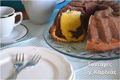 ΣΥΝΤΑΓΕΣ ΤΗΣ ΚΑΡΔΙΑΣ: Κέικ μαρμπρέ με κρέμα τυριού