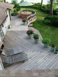 Fed terrasse